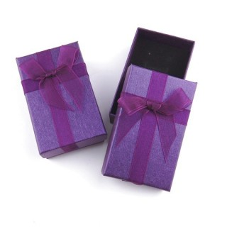18821-02 PACK OF 24 BOXES FOR SETS 5 X 8 CM IN PURPLE