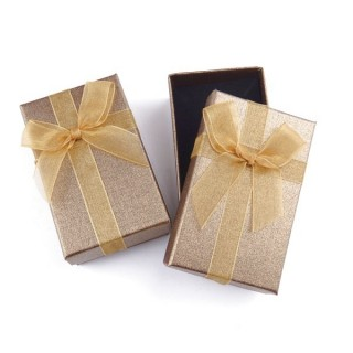 18821-05 PACK OF 24 BOXES FOR SETS 5 X 8 CM IN GOLD