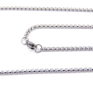 33631 STAINLESS STEEL 50 CMS LONG CHAIN WITH LOBSTER CLASP