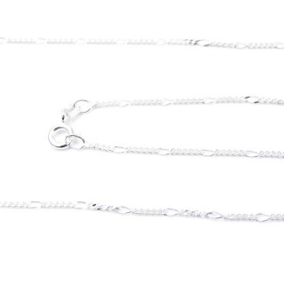 39293 ALT 35 5+1 STERLING SILVER 50 CMS CHAIN