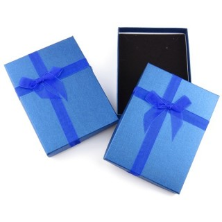 18824-06 PACK OF 6 GIFT BOXES FOR SETS 12 X 16 CM IN BLUE