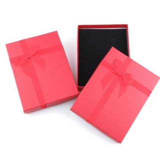 18824-07 PACK OF 6 GIFT BOXES FOR SETS 12 X 16 CM IN RED