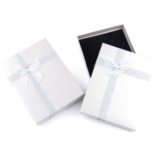 18824-08 PACK OF 6 GIFT BOXES FOR SETS 12 X 16 CM IN SILVER