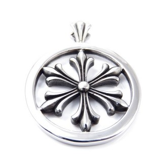 35153 STAINLESS STEEL 46 MM ROUND PENDANT