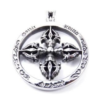 35158 STAINLESS STEEL 58 X 47 MM PENDANT