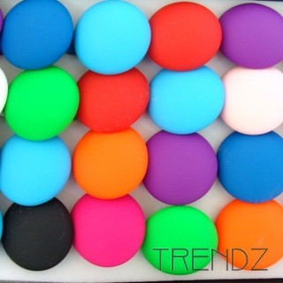 18880-5 BOX OF 24 FLUORESCENT COLOURED RINGS