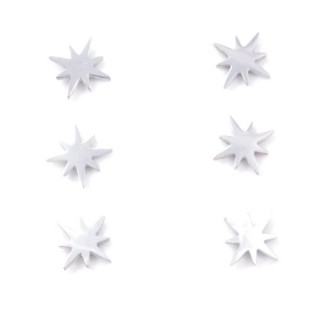 31202-67 PACK OF 3 PAIRS OF SILVER STAINLESS STEEL EARRINGS