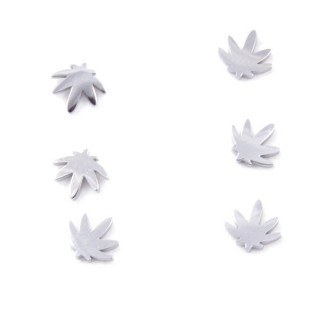 31202-68 PACK OF 3 PAIRS OF SILVER STAINLESS STEEL EARRINGS