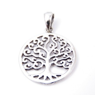 34236 STERLING SILVER TREE OF LIFE 21 MM PENDANT