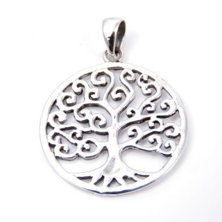 34235 STERLING SILVER TREE OF LIFE 25 MM PENDANT