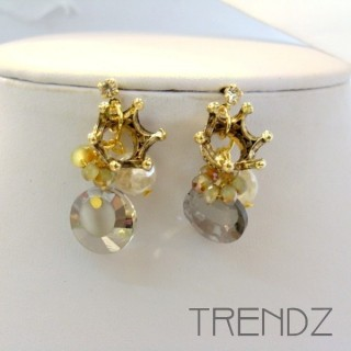 19547 DESIGNER STYLE POST FASHION EARRINGS