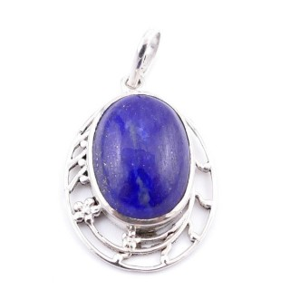 34397-11 SILVER 925 29 X 21 MM PENDANT WITH STONE IN LAPIS LAZULI