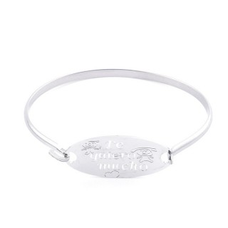 32311-27 STAINLESS STEEL BRACELET WITH CHARM