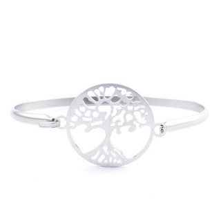 32311-32 STAINLESS STEEL BRACELET WITH CHARM