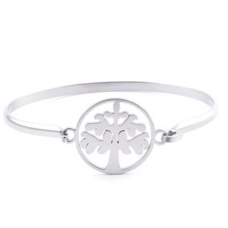 32311-33 STAINLESS STEEL BRACELET WITH CHARM