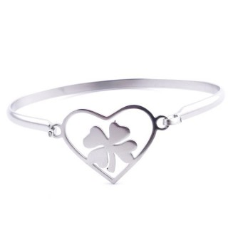 32311-39 STAINLESS STEEL BRACELET WITH CHARM