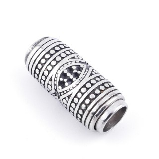 36015 MAGNETIC STAINLESS STEEL 30 X 13 MM CLASP WITH 8 MM HOLE