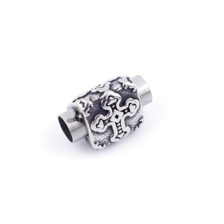 36024 MAGNETIC STAINLESS STEEL 17 X 12 MM CLASP WITH 8 MM HOLE