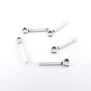 35402-09 PACK OF 30 FASHION JEWELLERY 16 MM TALL METAL LETTERS