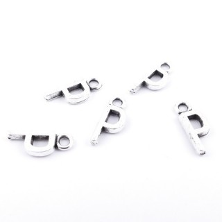 35402-16 PACK OF 30 FASHION JEWELLERY 16 MM TALL METAL LETTERS