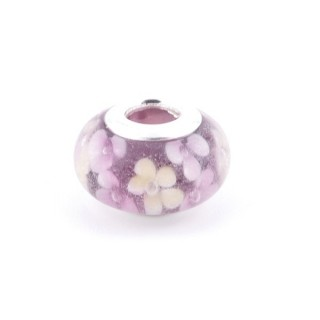 36546-08 RESIN AND SILVER 15 MM CHARM FOR BRACELET