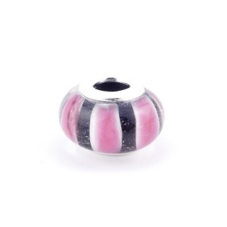 36546-09 RESIN AND SILVER 15 MM CHARM FOR BRACELET