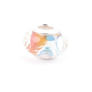36546-12 RESIN AND SILVER 15 MM CHARM FOR BRACELET