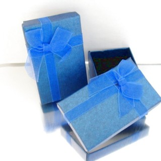 18821-06 PACK OF 24 BOXES FOR SETS 5 X 8 CM IN BLUE