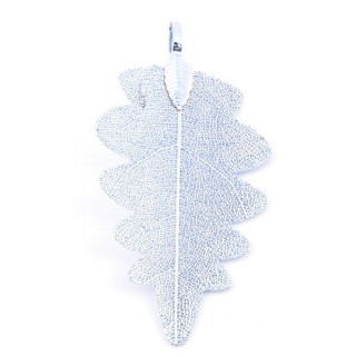 36150-03 FASHION JEWELLERY METAL LEAF SHAPED 60 X 30 MM APPROXIMATE SIZED PENDANT