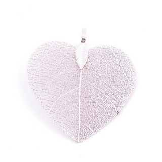 36149-10 FASHION JEWELLERY METAL LEAF SHAPED 48 X 41 MM APPROXIMATE SIZED PENDANT