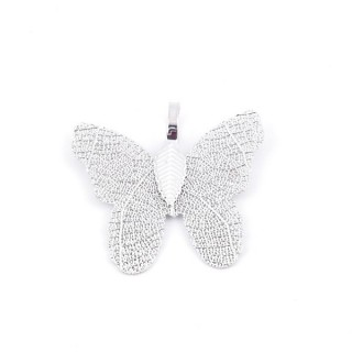 36152-02 FASHION JEWELLERY METAL BUTTERFLY SHAPED 28 X 30 MM APPROXIMATE SIZED PENDANT