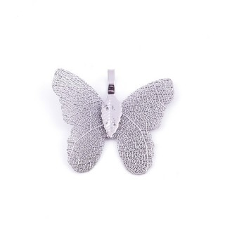 36152-04 FASHION JEWELLERY METAL BUTTERFLY SHAPED 28 X 30 MM APPROXIMATE SIZED PENDANT