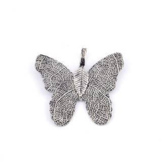 36152-05 FASHION JEWELLERY METAL BUTTERFLY SHAPED 28 X 30 MM APPROXIMATE SIZED PENDANT