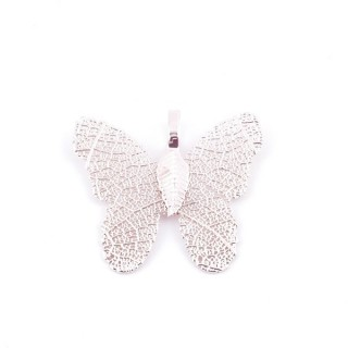 36152-06 FASHION JEWELLERY METAL BUTTERFLY SHAPED 28 X 30 MM APPROXIMATE SIZED PENDANT