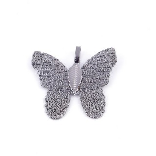 36152-07 FASHION JEWELLERY METAL BUTTERFLY SHAPED 28 X 30 MM APPROXIMATE SIZED PENDANT