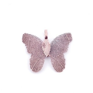 36152-08 FASHION JEWELLERY METAL BUTTERFLY SHAPED 28 X 30 MM APPROXIMATE SIZED PENDANT