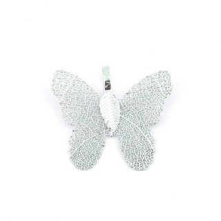 36152-09 FASHION JEWELLERY METAL BUTTERFLY SHAPED 28 X 30 MM APPROXIMATE SIZED PENDANT