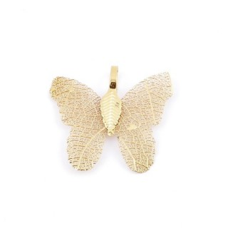 36152-11 FASHION JEWELLERY METAL BUTTERFLY SHAPED 28 X 30 MM APPROXIMATE SIZED PENDANT