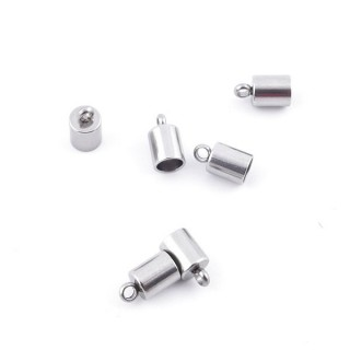 35664 PACK OF 50 STAINLESS STEEL TERMINALS WITH 4 MM HOLE