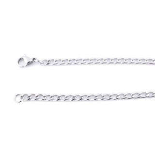 36415 STAINLESS STEEL 3.7 MM X 60 CM LINK CHAIN