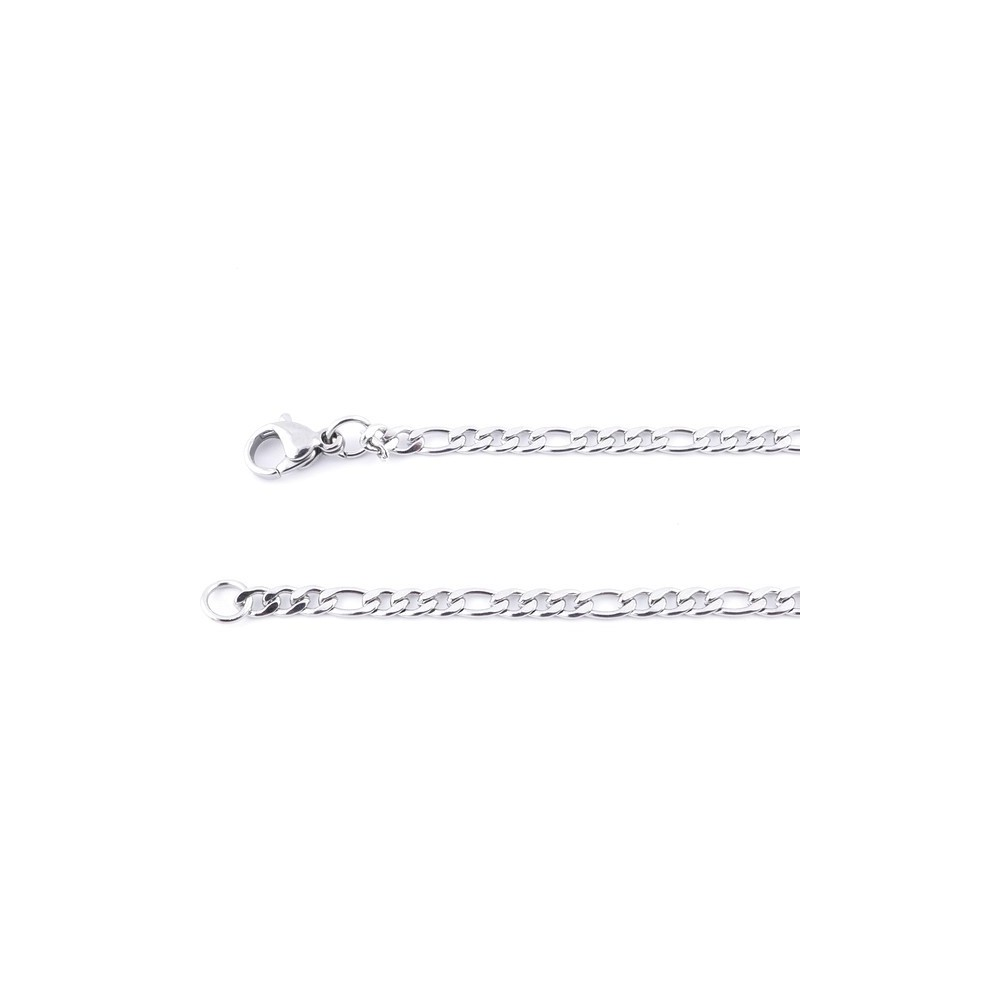 36418 STAINLESS STEEL 3.2 MM X 60 CM LINK CHAIN