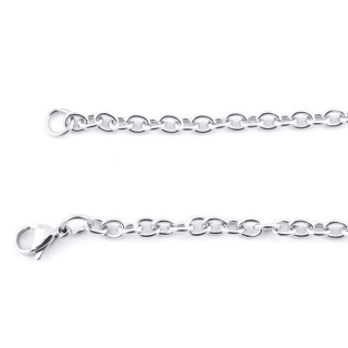 36388 STAINLESS STEEL 4 MM X 60 CM CHAIN