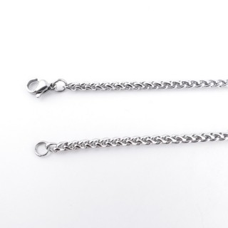 36036 STAINLESS STEEL 4 MM X 70 CM LONG CHAIN