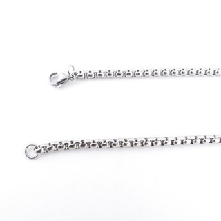 36038 STAINLESS STEEL 4 MM X 70 CM LONG CHAIN
