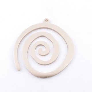36135-03 SUN SHAPED FASHION JEWELRY METAL 55 X 50 MM PENDANT