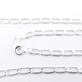 39552 STERLING SILVER 50 CM LONG CHAIN: CHVD100
