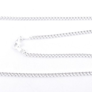 39536 STERLING SILVER 45 CM LONG NECK CHAIN: GR0,80