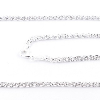 39522 STERLING SILVER 50 CM LONG CHAIN: SP0,80