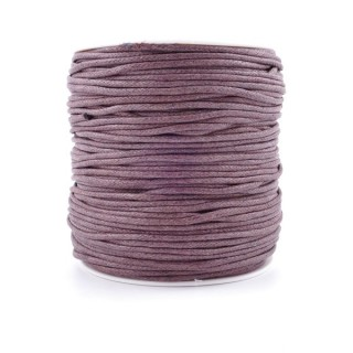 36248-02 ROLL OF 90 METERS OF 2 MM WAX CORD IN BROWN
