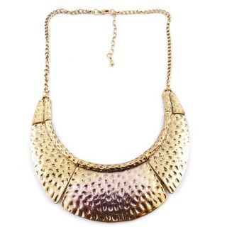 23247-256 SHORT METAL FASHION JEWELRY NECKLACE